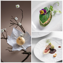 Image de 2 menus « Lâchez prise ! » en 5 créations avec accords mets et vins