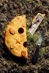 Image de Tourte de Chevreuil et champignons sauvages ( la part )