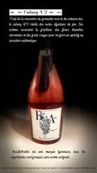 Image de Vin Pétillant aromatique à base romarin domaine Basil et Ariette cuvée Calanq N°2